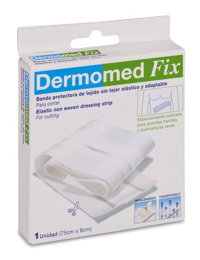 Dermomed Fix Aposito Adhesivo Banda 75 cm x 8 cm, 1 Ud
