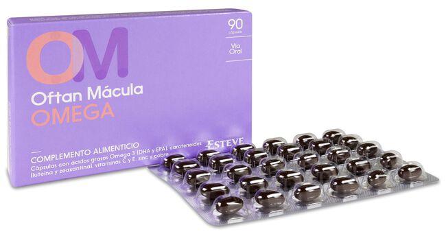 Oftan Mácula Omega, 90 Cápsulas