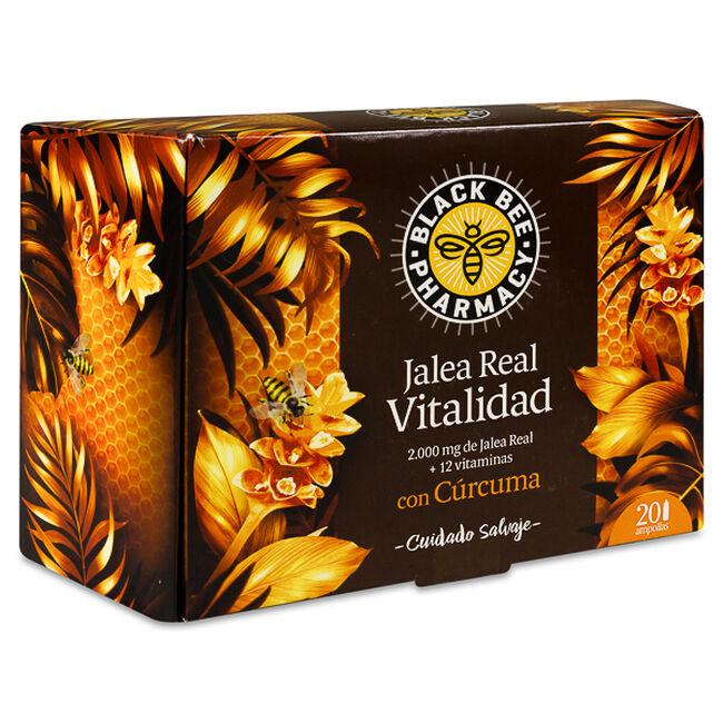 Black Bee Pharmacy Jalea Real Vitalidad, 20 Uds