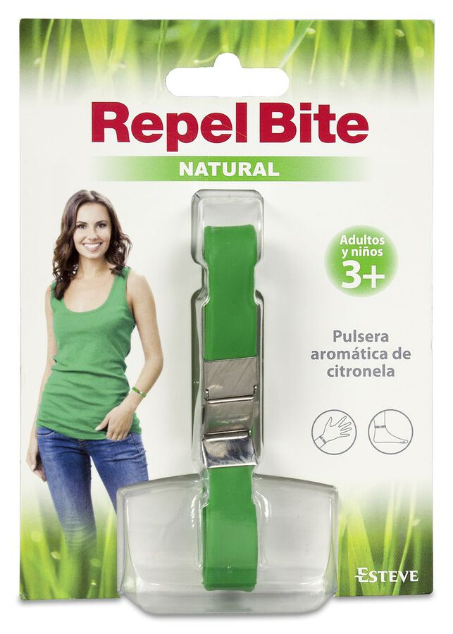 RepelBite Natural Pulsera, 1 Ud