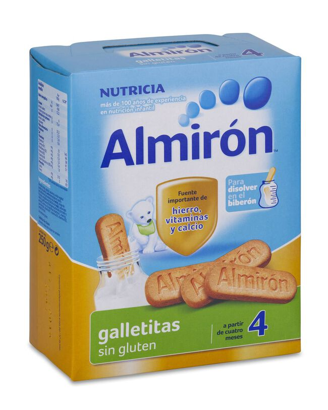 Almirón Galletitas Advance Nuevo Pack Sin Gluten, 250 g