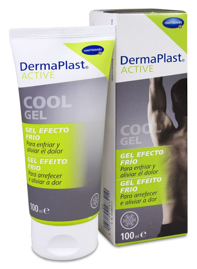 DermaPlast Active Cool Gel Efecto Frío, 100 ml