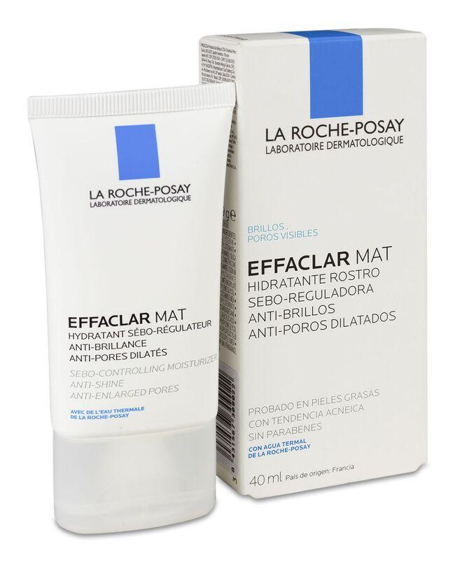 La Roche-Posay Effaclar Mat Hidratante Rostro, 40 ml