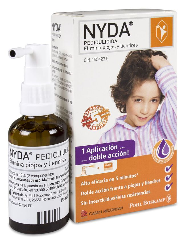 Casen Nyda Pediculicida, 50 ml