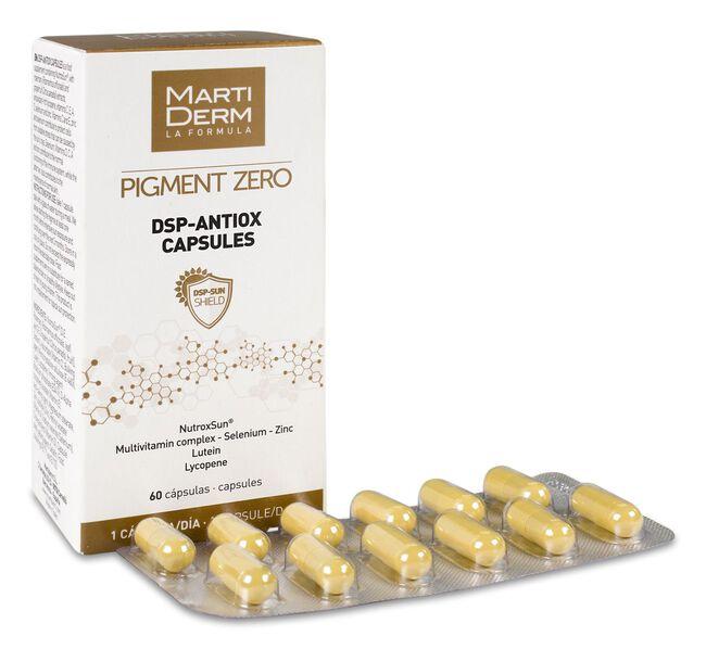 Martiderm Pigment Zero DSP-Antiox, 60 Cápsulas
