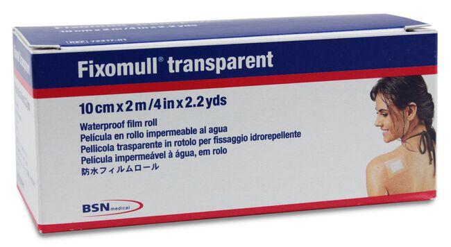 Fixomull Transparente 10 cm x 2 m, 1 Ud