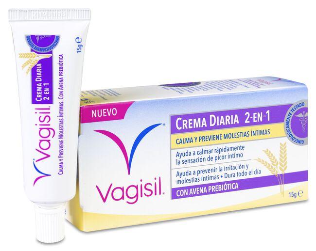 Vagisil Crema Diaria 2 en 1 con Avena