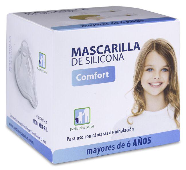 Pediatrics Mascarilla Silicona + 6 Años, 1 Ud