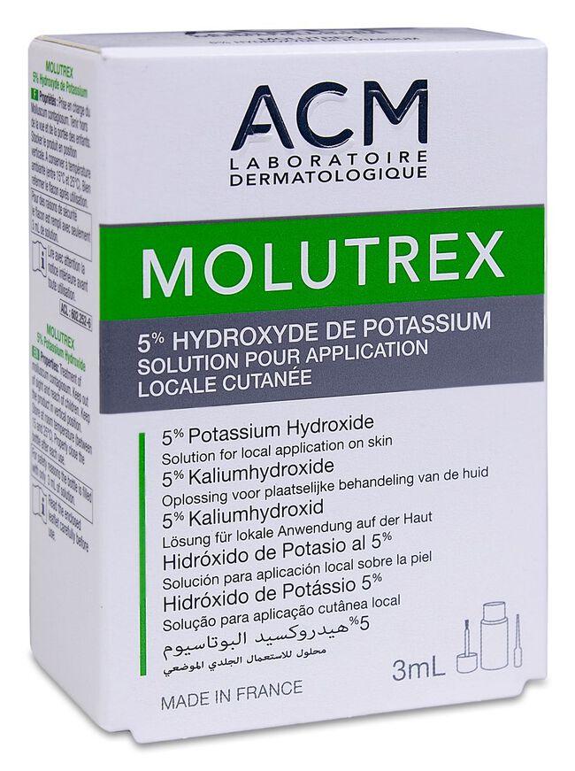 Molutrex Solución, 3 ml