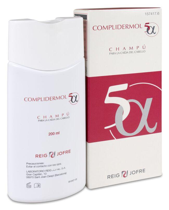 Complidermol 5 Alfa Champú, 200 ml