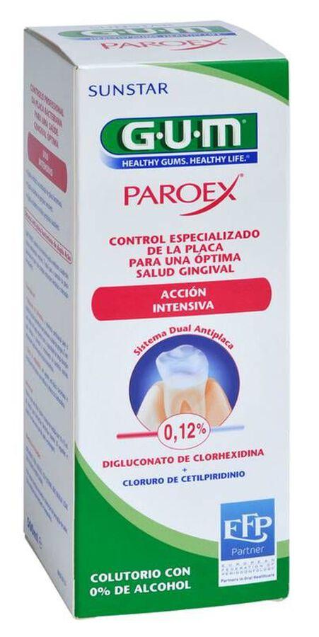 GUM Paroex Tratamiento Periodontitis Colutorio, 500 ml