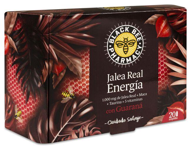Black Bee Pharmacy Jalea Real Energía, 20 Ampollas