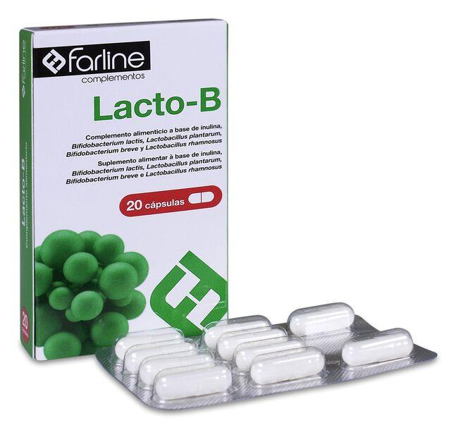 Farline Lacto-B Probiótico, 30 Cápsulas