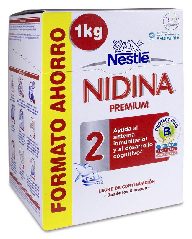 Nidina Premium 2 Formato Ahorro 1 Kg, 1 kg