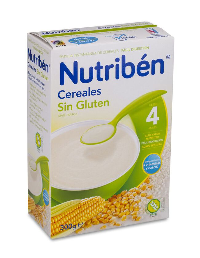 Nutriben Cereales Sin Gluten, 300 g