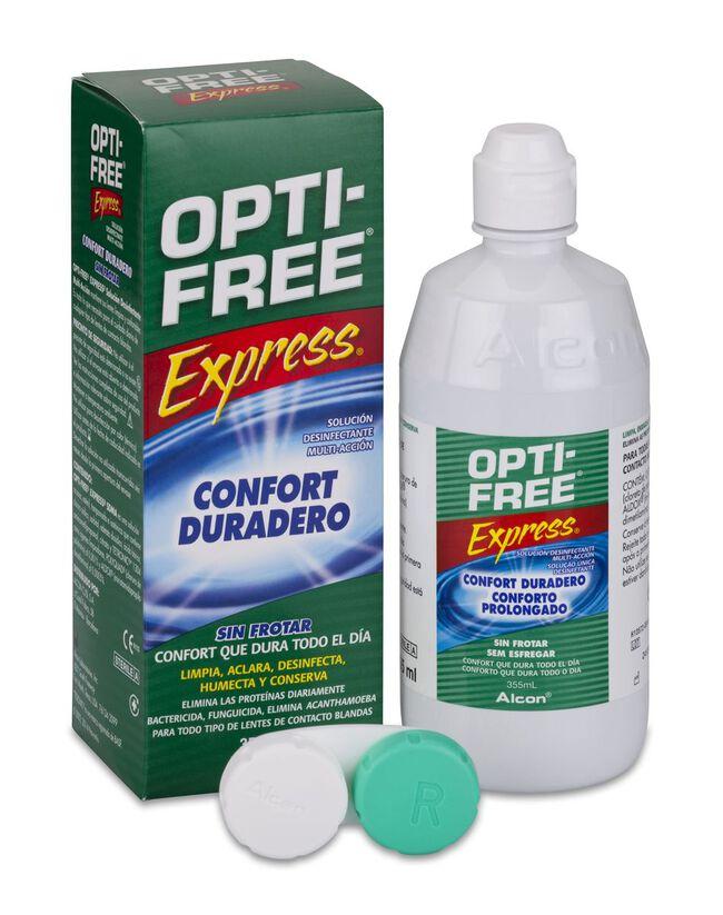 Opti-Free Express Solución Única, 355 ml