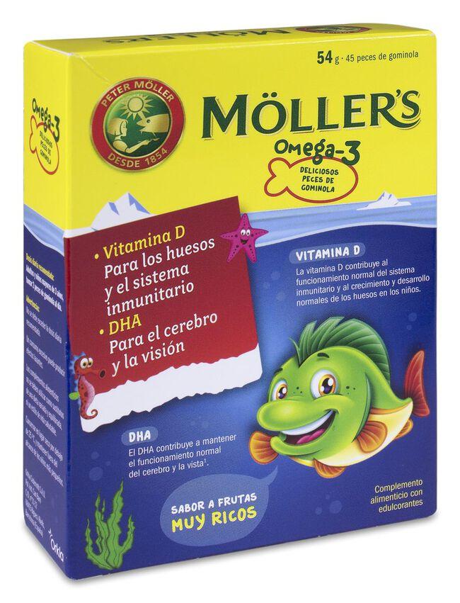 Möller's Omega-3 Sabor Tutti-frutti, 54 g