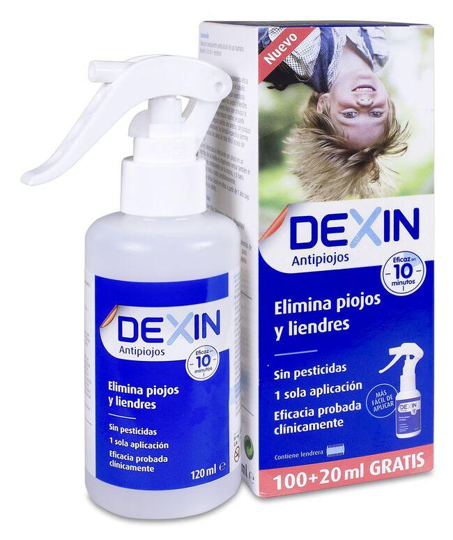 Dexin Loción Antipiojos, 120 ml