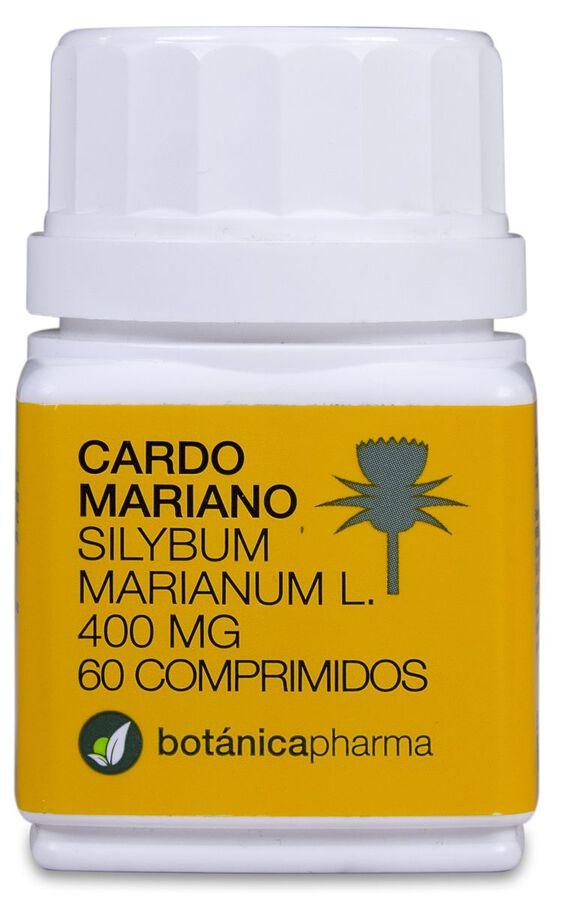 Botánicapharma Cardo Mariano 400 mg, 60 Comprimidos
