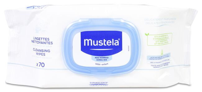 Mustela Toallitas Perfumadas, 70 Uds