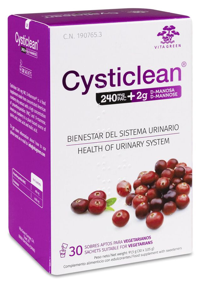 Cysticlean D-Manosa, 30 Sobres