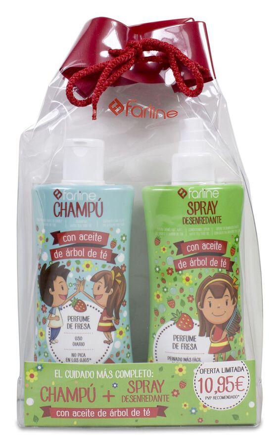 Pack Farline con Árbol de Té Champú+Spray, 1 Ud