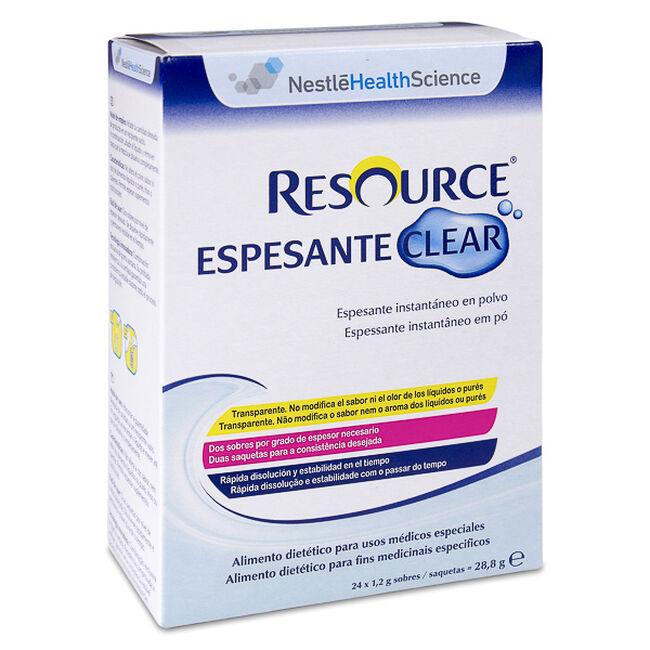 Resource Espesante Clear, 24 Sobres