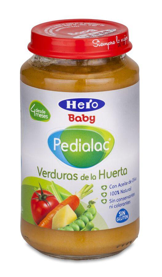 Pedialac Verduras de la huerta Hero Baby, 250 g