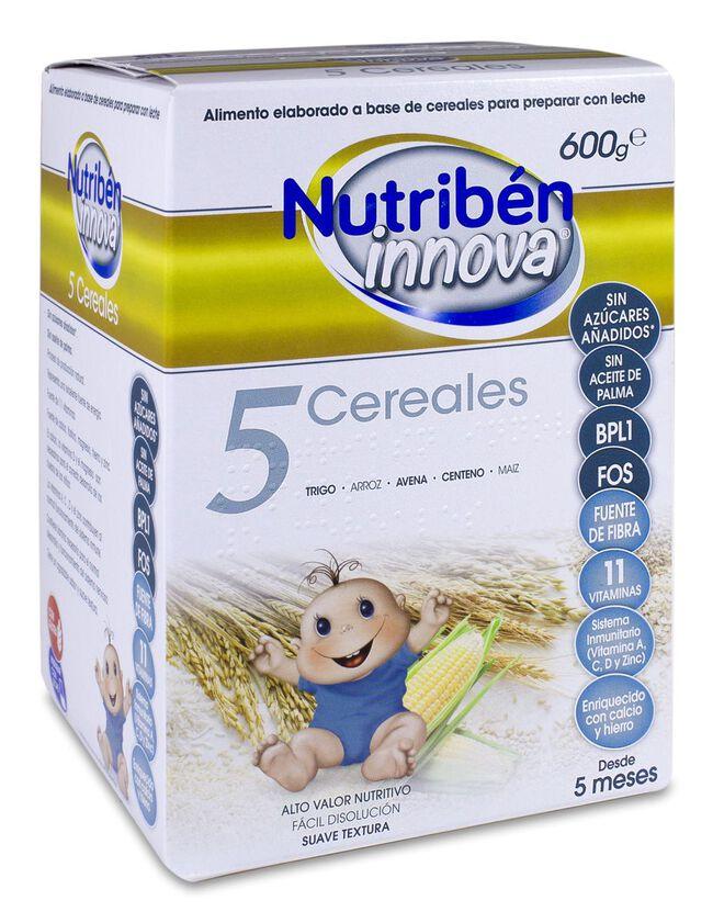Nutribén Innova 5 Cereales, 600 g