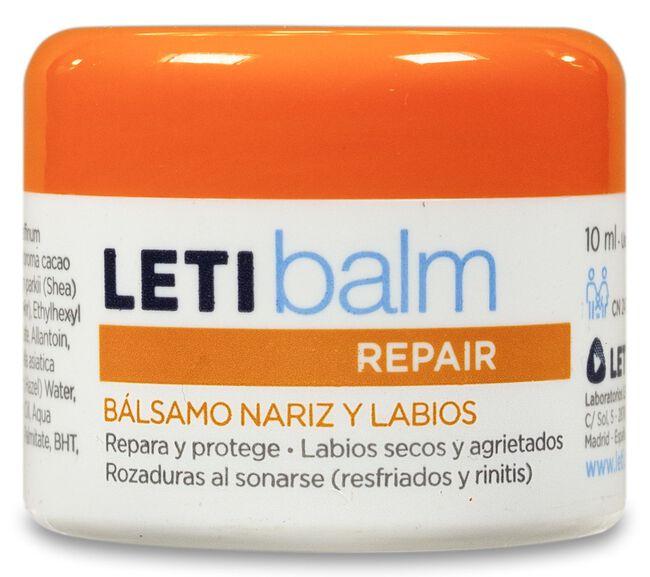 LETIbalm Bálsamo Reparador Pediátrico Nariz y Labios, 10 ml