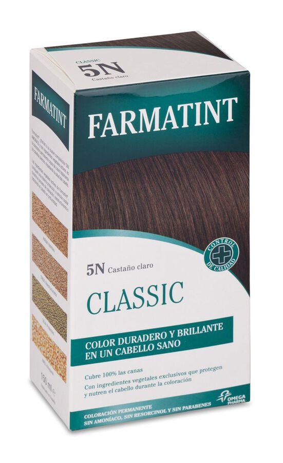 Farmatint Tinte Capilar 5N Castaño Claro, 1 Ud
