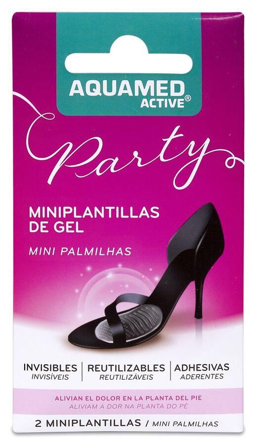 Aquamed Active Miniplantillas de Gel, 2 Uds