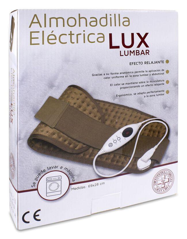 Gran Cruz Almohadilla Eléctrica Lux Lumbar, 1 Ud