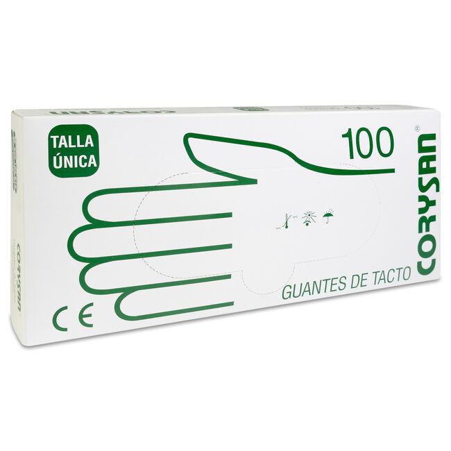 Corysan Guante Tacto Normal, 100 Uds