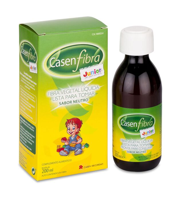 Casenfibra Junior Líquido, 200 ml