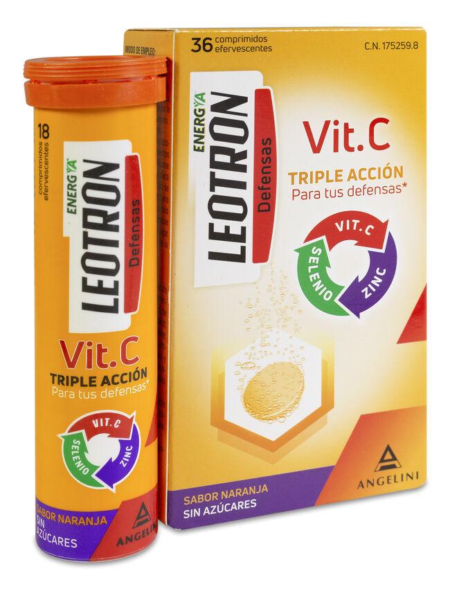 Leotron Vitamina C, 36 Comprimidos