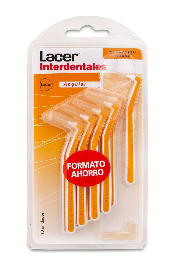 Lacer Cepillo Interdental Angular Extrafino Suave, 10 Uds