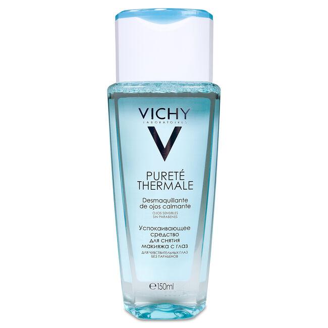 Vichy Pureté Thermale Loción Desmaquillante Ojos, 100 ml