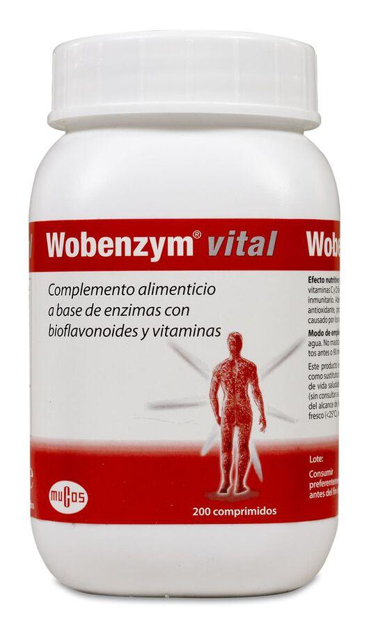 Wobenzym Vital, 200 Comprimidos