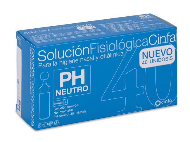 Cinfa Solución Fisiológica, 40 Monodosis