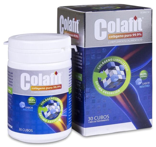 Colafit Colágeno Puro 99,9%, 30 Cubos