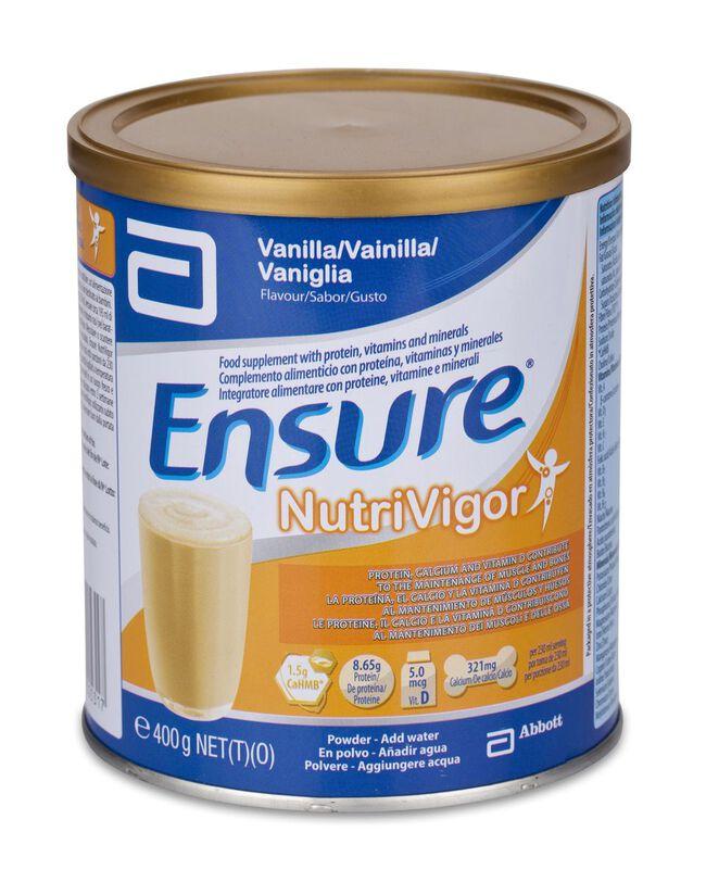 Ensure Nutrivigor Vainilla, 400 g