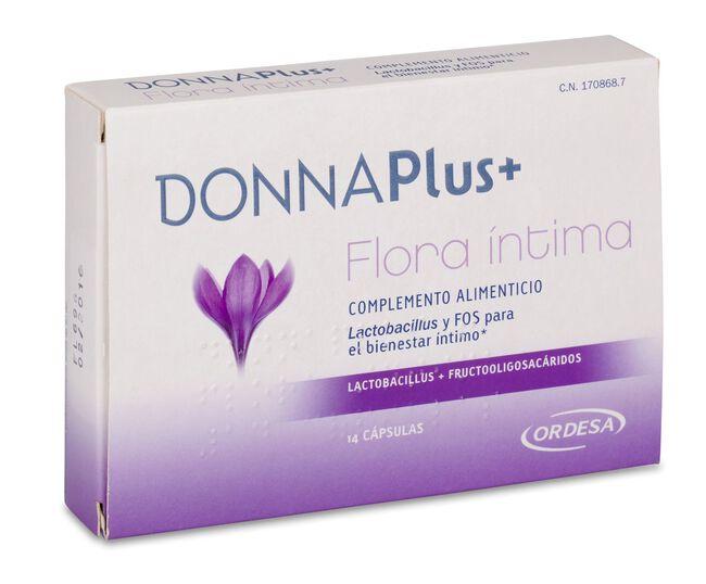 DonnaPlus+ Flora Íntima, 14 Cápsulas
