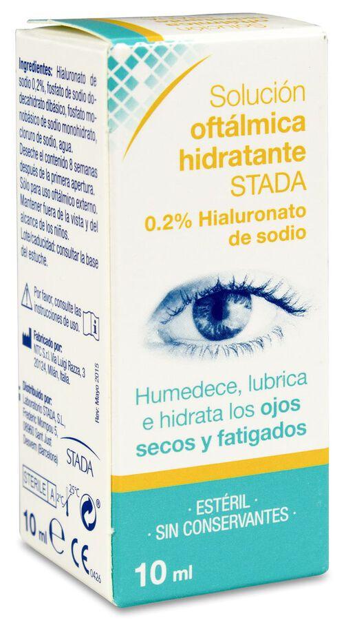 Care+ Solución Oftálmica Hidratante, 10 ml