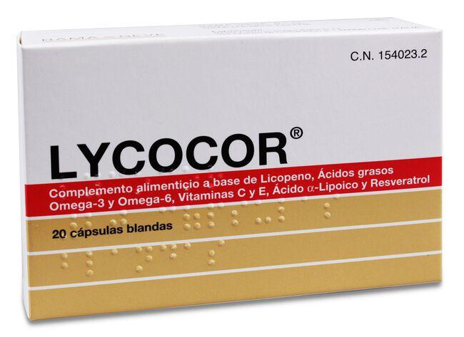 Lycocor, 20 Cápsulas