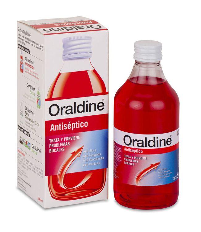 Oraldine Antiséptico, 400 ml