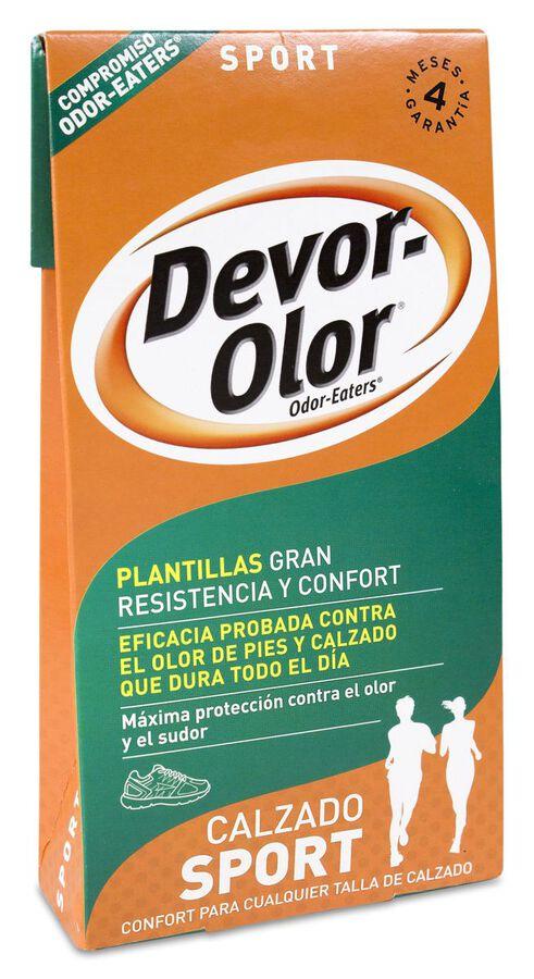 Devor-Olor Plantilla Zapatillas, 1 Par