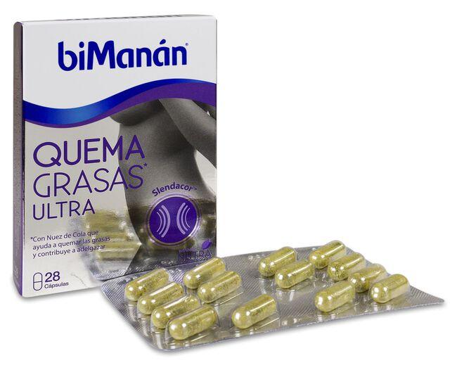 biManán Quema Grasas Ultra, 28 Cápsulas