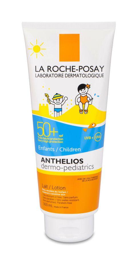 La Roche-Posay Anthelios SPF 50+ Dermopediatrics Leche, 300 ml