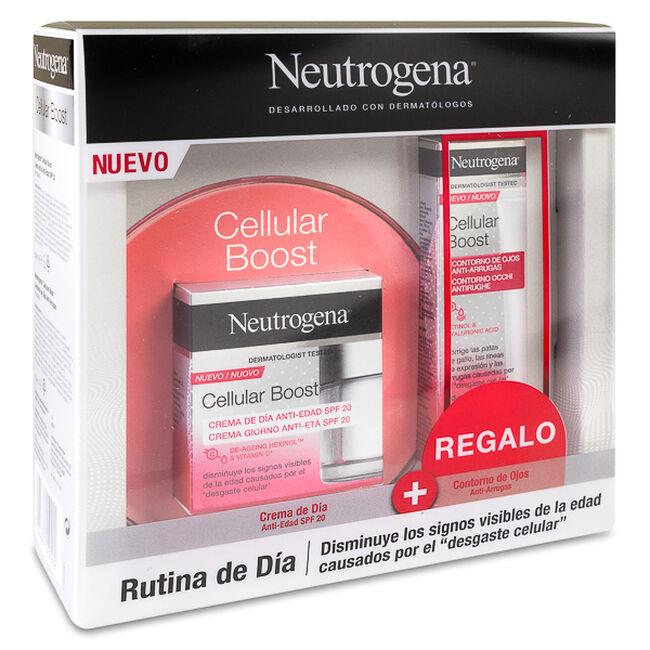 Pack Neutrogena Cellular Boost Crema de Día + Contorno de Ojos